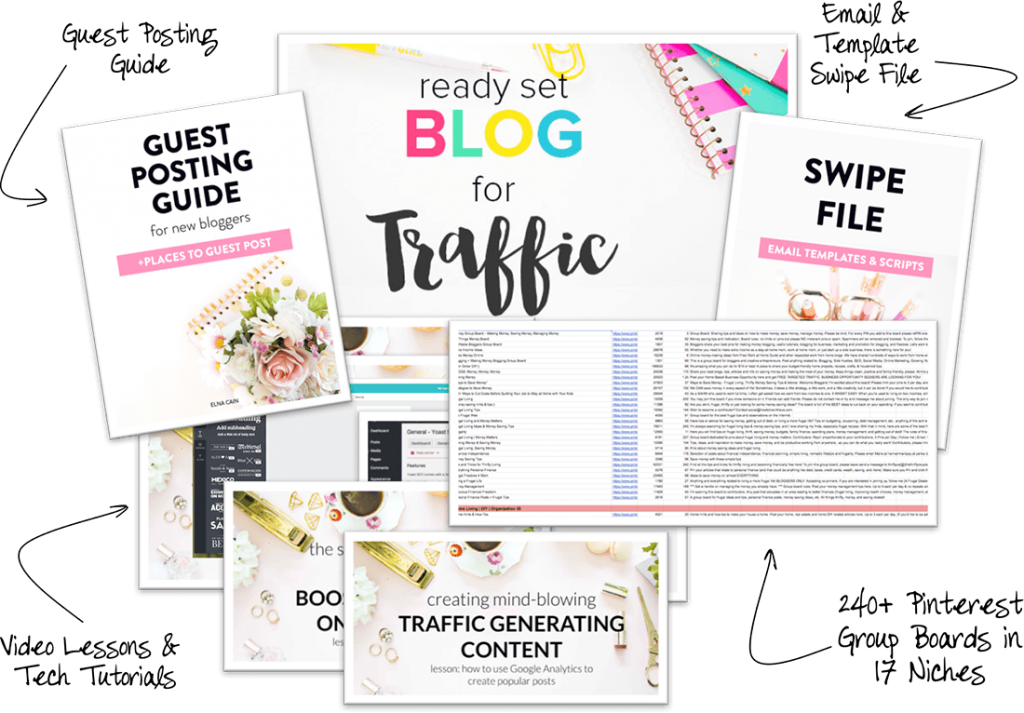 Blog for Traffic Mockup