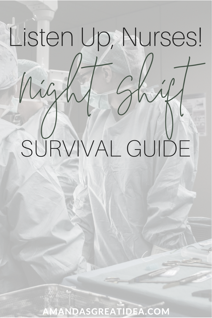 If you are working night shift, here are some things you NEED to know!