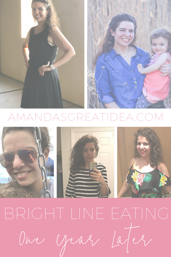 Bright Line Eating: 1 year follow up. Learn all about my success after not eating sugar or flour for 1 year! #brightlineeating #brightlinebites #nosguar #noflour #keto #weightloss